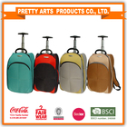 Novo produto 2015 novo colorido cruzamento saco da bagagem top marcas saco da bagagem do trole
