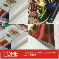 Hot/Cold Laminated Solvent Lona pana backlit/frontlit PVC Flex Banner