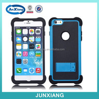 Alibaba hot sale shockproof 3 in 1 Ballistic case cover for iphone 6