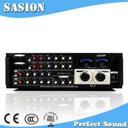 New arrival 2015 SASION K9-E 4 channel 60W home theater sound digital amplifier