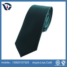 Hand Polyester Neckties 100% silk fabric for tie