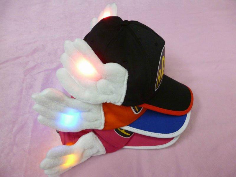 Gorras de béisbol con luces led para los niños, Mantener el calor