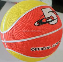 Contemporary Best-Selling custom logo rubber basketballs stock