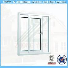 40$ per square white single glass pvc sliding window