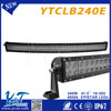 Dirt cheap motorcycles light for mining machine 240w led light bar for Offroad 10-30 voltage led light bar