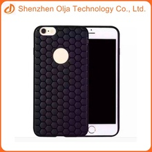 The latest design honeycomb soft phone case for iPhone 6s