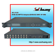 satellite receiver with ip out /dvb-s to ip gateway /dvb-s2 ip