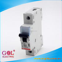 china 3 phase low voltage types 32 amps 230V ac /dc electric automatic air mini micro or miniature mcb circuit breaker switch