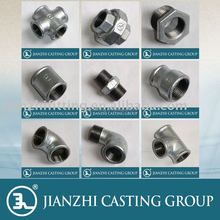 Hot-dip Galvanized malleable iron pipe fittings
