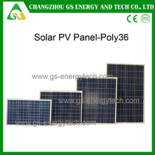 China poly high efficiency stock solar panel 250W