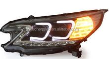 car parts 2012-2014 Year V2 Head Light LED Turn lights For HONDA CRV led headlight