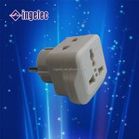 Yiwu No.1 universal adapter plug power plug right angle lighted electrical plug