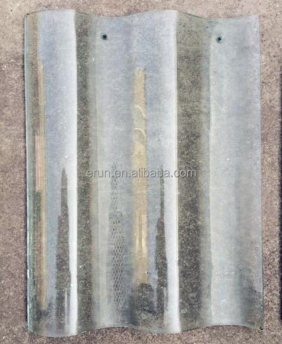 Double Strength Glass Cutting : High strength glass roof tile double bent transparent