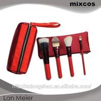 wholesale 4pcs mini travel cosmetic brush set