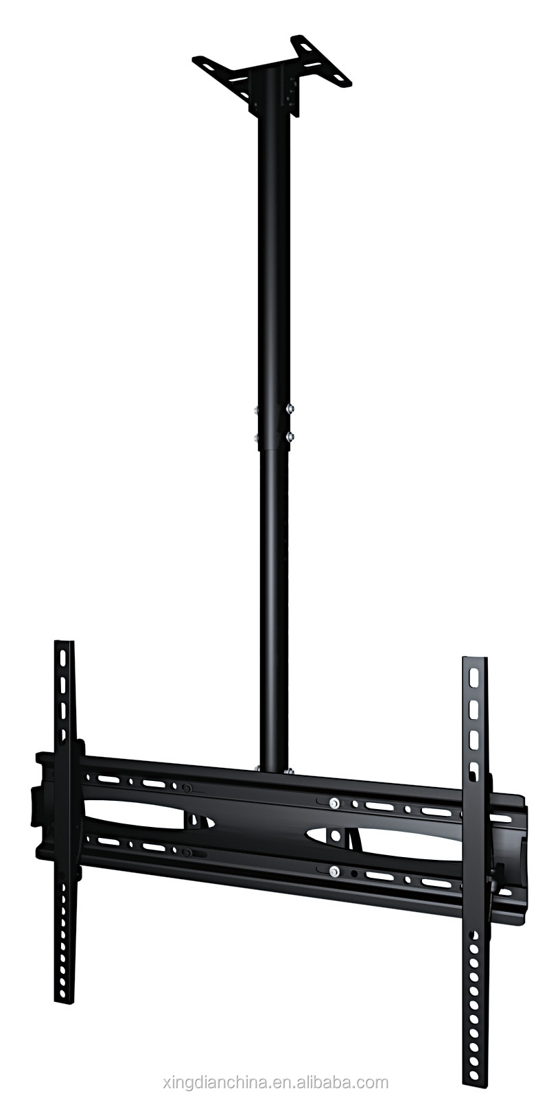 Removable flip down tv ceiling mount for 60 led lcd tvs for Motorized flip down tv mount