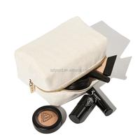 Wholesale Portable Travel Jute Burlap Cosmetic Bag,Customized Logo Ladies Makeup Bag,Toiletry Organizer Pouch Bag
