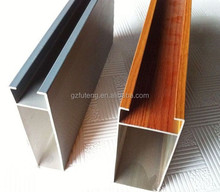 Top 5 Aluminum Square Tube ceiling_U shape Baffle Ceiling Design