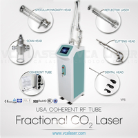 Fractional CO2 laser for smoothing wrinkles and eliminating scars with CE on promotion