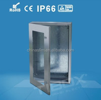 IBOX CE, RoHS, IP66 AISI 304 waterproof stainless steel electrical outlet covers enclosure