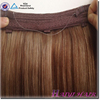 Hot selling top quality indian remy hair halo alibaba certified