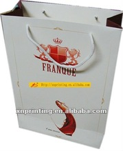 popular paper bag for wine packing