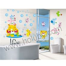 Cartoon Animals Wall Sticker for Home Decoration, DIY Removable PVC Wall Decal Stickers 50 x 70 cm