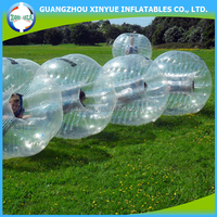 Big man bumper ball inflatable plastic suit
