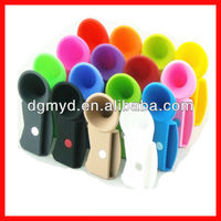Mobile Phone Silicone Horn Stand for iphone speaker