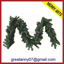 new products 2016 Luxury Hanging Decoration Garland Xmas Wreath Christmas Decorations wholesale