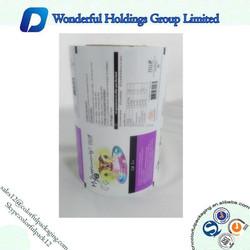 Hot sale custom printing laminated roll film for wholesale /High Quality Laminated Roll Film / packaging roll fiml for food
