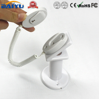 2015 ABS Plastic mobile phone security display holder with spring wire