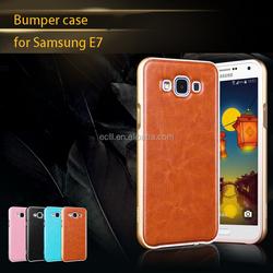 for Samsung E7 aluminum bumper case, cover for Samsung E7