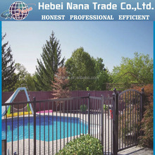 powder coated fence / security backyard fence / metal steel picket fence