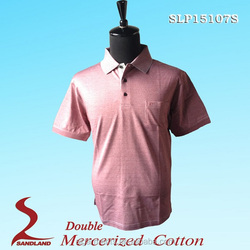 High Quality 50%Bamboo Charcoal 50%Polyester Golf Polo t Shirts for Men 2016