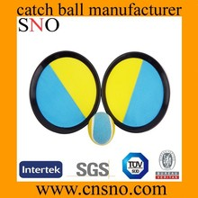 Hot sale promotion cheap beach velcro catch ball game catch ball