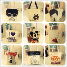 Fashion Cartoon canvas bag/women's favorite handbags