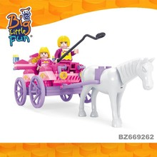 Horse carriage for girl cheap educational toys for children with autism new products on China market