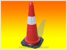 Plastic Road Warning Traffic Plastic Cone for Traffic Safety