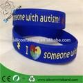 Barato de la fábrica de la conciencia del autismo pulsera pulsera de silicona awarwristbands