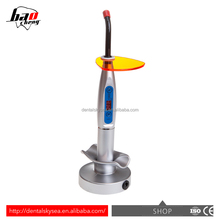 HOT! various colors cordless /wireless curing light with different size light probes dental light