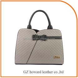 Lady pu handbag from direct Guangzhou factory best selling 2015