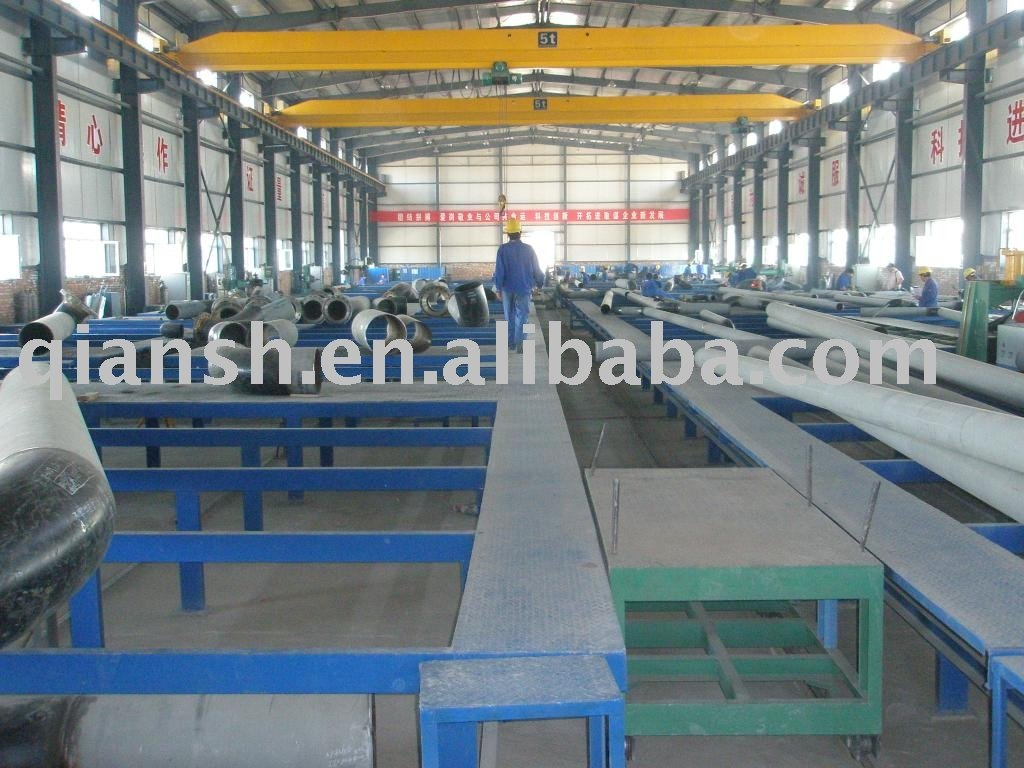 Tubo de fabricação linha de produção ( tubo SPOOL ) ; PIPING pré fabricação linha de produção