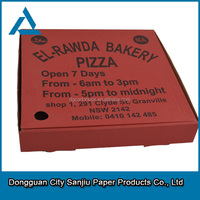 customized wholesale octagonal pizza boxes with SGS certification