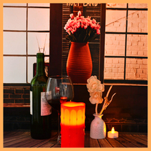 Fashion Design High Quality Five Star Hotel Supplies Hotel 3d flameless candle sets