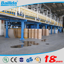 Alibaba china manufacturer exporter No bubble 1280mm width*40-70mic gum Bopp jumbo roll adhesive tape with customized logo