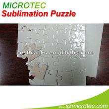 Picture puzzle jigsaw, a3 dimensione, fare foto puzzle sublimazione a caldo per la vendita