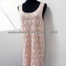 2014 Por mayor marca gran estilo europeo Chaleco de vestir chalecos para dama de vestir Crochet vestido