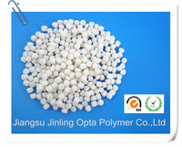 recycled rubber thermoplastic polyurethane pellet for recycling