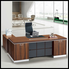 HT-512 2015 New Design L Shape Melamine Executive Office Desk