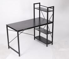 portable modern wood and metal computer desk